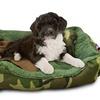 US Army Three-Piece Large Camo-Print Pet Bed Set