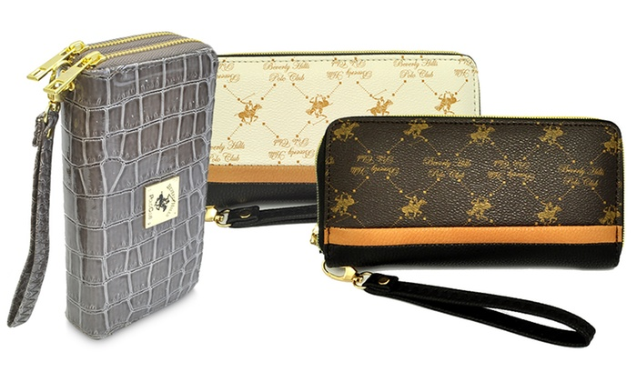 Beverly Hills Polo Club Women S Wristlet Wallets