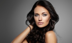Oasis Salon and Spa: Brazilian Blowout with Massage, or Massage and Jacuzzi Session at Oasis Salon and Spa (Up to 53% Off)