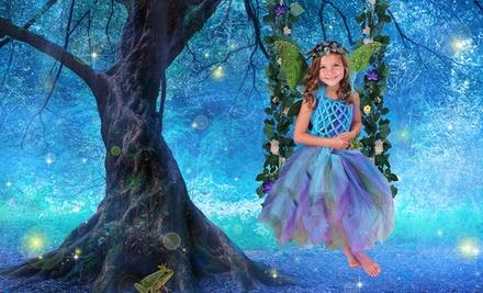 87% Off a Kids' Fairy Tale Photo Shoot