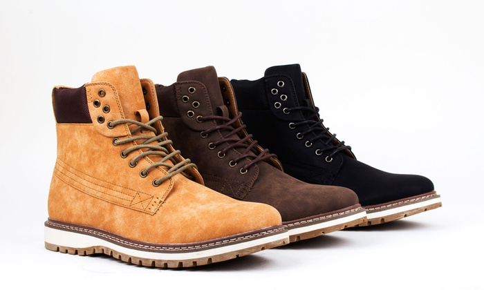 Men's Sneaker Sole Boots | Groupon Goods