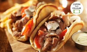 Taverna Grega: Taverna Grega – Jardim Paulista: prato principal no almoço ou jantar para 1 ou 2 pessoas