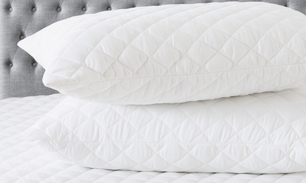 Fitted Mattress and Pillow Protector Set: Single $25, Double $27, Queen $29 or King $35 Don't Pay Up to $99