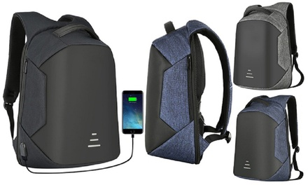 One, Two, or Three Anti Theft Laptop Backpacks from AED 119