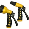 Watering Nozzle Set with 7-Way Adjustable and Twist Nozzles (2-Piece)