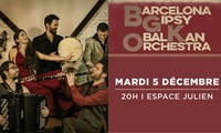 """1 place pour assister au concert """"Barcelona Gipsy Balkan Orchestra"""", le 5 décembre 2017 à 20h, à 10 € à lEspace Julien"""