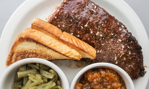 Five Aces Bar-B-Que: Barbecue Dinner for Two or Four at Five Aces Bar-B-Que (Up to 37% Off)