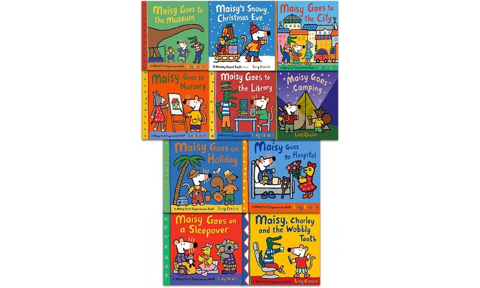 Groupon Goods Global GmbH: Lucy Cousins Maisy First Experiences Ten Books Set