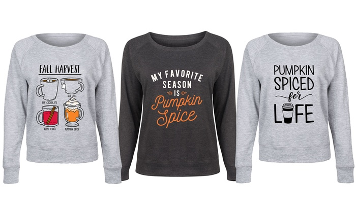1decf4c88 Up To 55% Off on Pumpkin Spice Slouchy with Plus | Groupon Goods