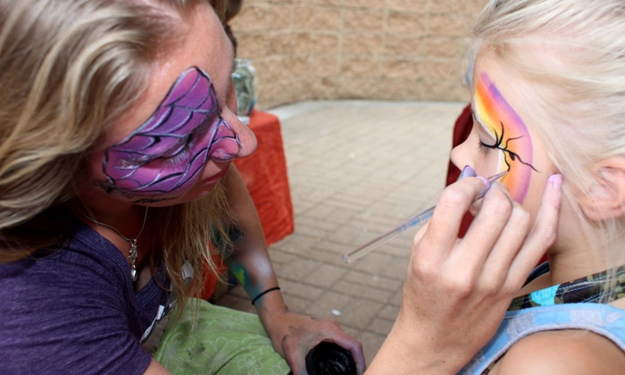 RJ's Amazing Face Paint Tattoos & Balloons - Denver: One-Hour Henna-Tattoo or Face-Painting Party from RJ's Amazing Face Paint Tattoos & Balloons (52% Off)