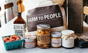 50% Off Gourmet Food and Specialty Goods from Farm To People at Farm To People, plus 9.0% Cash Back from Ebates.