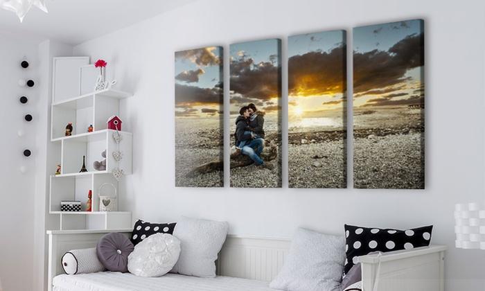 Tableau photo sur 4 toiles avec Picanova dès 29,99 € (jusqu'à 80 % de réduction)