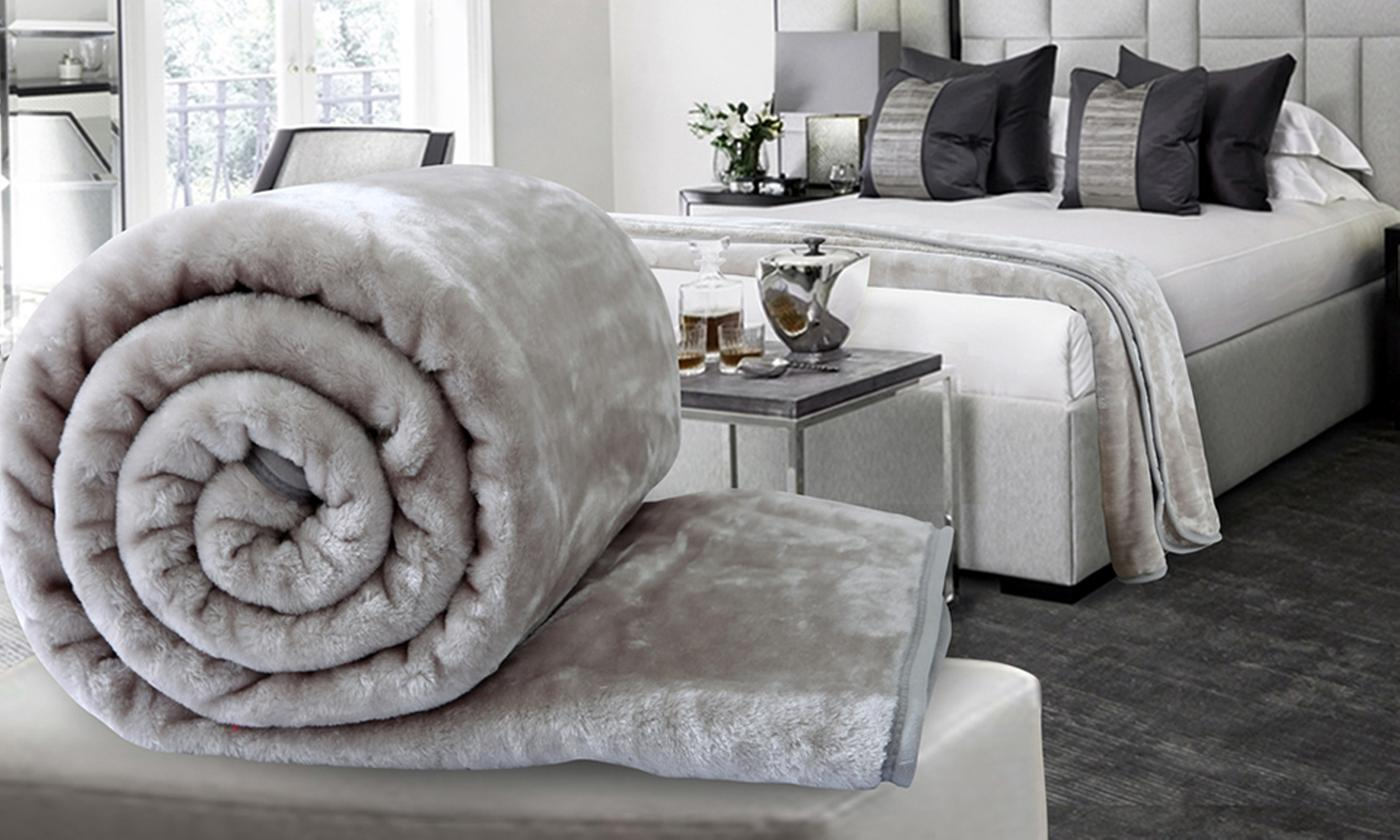 Dickens Soft Faux Mink Throws for £5.99