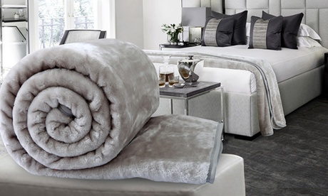 Soft Faux Mink Throws in Choice of Colour