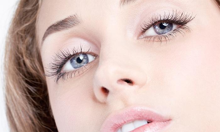 Swedish Pink Laser and Spa - Paradise Valley: Eyelash Extensions, Semi-Permanent Mascara, or Both at Swedish Pink Laser and Spa (Up to 61% Off)