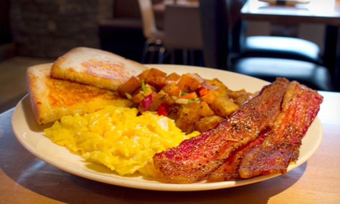 Grand Central - Grand Central Restaurant & Bowling Lounge: $10 for $20 Worth of American Food for Breakfast on Saturday or Sunday at Grand Central