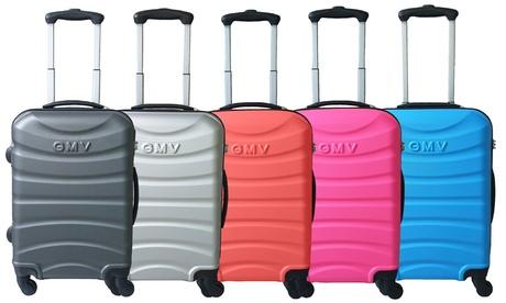 1 o 2 trolley da cabina Napoli Gian Marco Venturi, in ABS e con chiusura TSA, disponibili in 5 colori