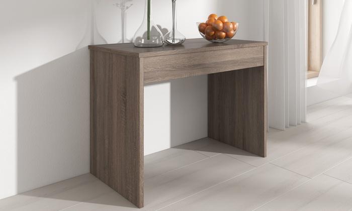 tavolo consolle allungabile groupon goods. Black Bedroom Furniture Sets. Home Design Ideas