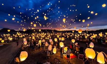 $45 for One Adult Lantern Pass Admission at The Lantern Fest, on Sunday, June 10, 2018 ($90 Value)