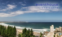 Cronulla: Up to 3-Night Coastal Escape for Two People with Breakfast and Late Check-Out at 4* Eventhouse Cronulla
