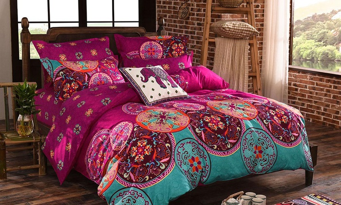 FABRIC FANTASTIC: From $49 for an Artistic Quilt Cover Set
