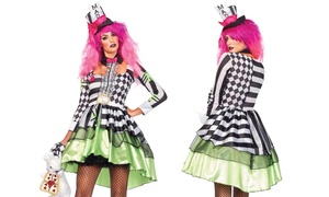 Women's Deliriously Mad Hatter Costume