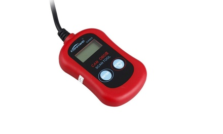 CAN OBD II Car Scanner Tool for Check Engine Light and Diagnostic Codes: One ($25) or Two ($45)