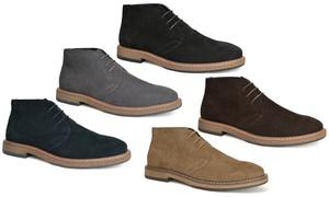 Oak & Rush Men's Suede Chukka Boot