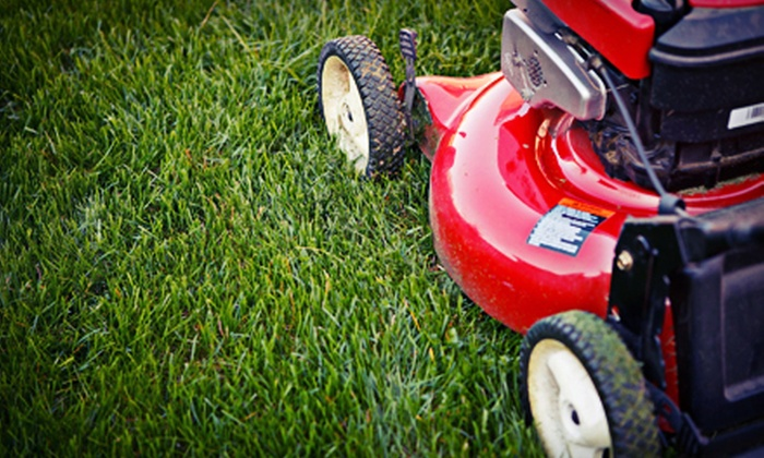 The Mitchell Partners - Mosier Valley: One or Three Lawn-Care Sessions Valid for Up to a Quarter Acre or a Half Acre from The Mitchell Partners (Up to 56% Off)
