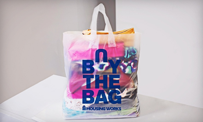 Housing Works - Greenwood: $15 for a Bag Full of Second-hand Contemporary Apparel at Housing Works Buy the Bag Shop ($25 Value)