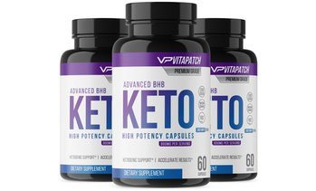 Advanced Keto BHB Diet Pills and Keto Support (3-, 6-, or 9-Pack)