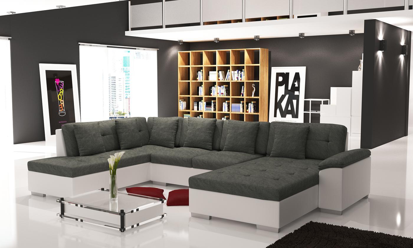 Groupon Goods Global GmbH: Grenada U-bank met sofa
