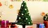 3ft, 4ft, ot 5ft Fibre Optic Artificial Christmas tree