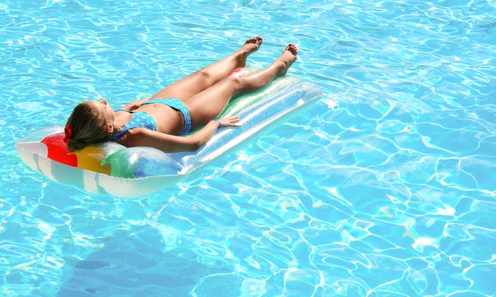 Lucent Pools LLC - Fort Worth: Pool Filter Cleaning with Option for 1 Month of Weekly Pool-Cleaning Visits from Lucent Pools (Up to 61% Off)