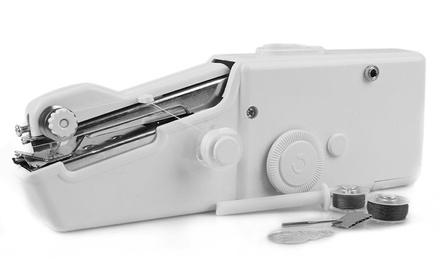 Máquina de coser portátil con 20 bobinas WeHouseware
