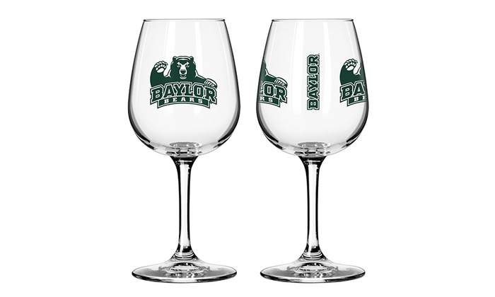 NCAA Wine Glasses (2-Pack)