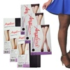 Angelina Sheer Pantyhose in One-Size and Queen-Size (6-Pack)
