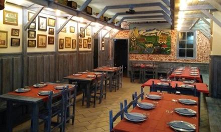 Menú Chuleton de 1 kg de Ternera con entrante, postre y bebida por 29,95 € en El Bodegón de Teatinos
