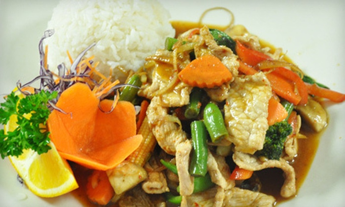 Nooddi-Thai Chef - West Chester: Dinner for Two or Four at Nooddi-Thai Chef in West Chester (Up to 57% Off)