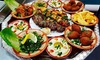 Menu libanese con bibita e dolce