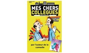 """comedie des suds: 2 places pour """"Mes chers collègues"""" à 20 € à la Comédie des Suds"""