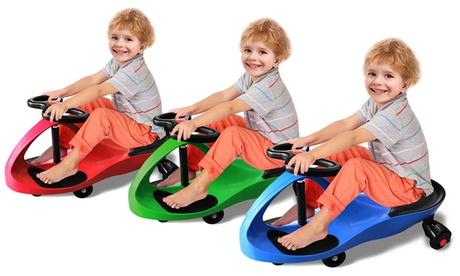 Whirlwind Wheels Ride-Along Swivel Car