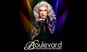 Boulevard: Boulevard: Summer Cabaret Show Tickets for Two, 19 June to 11 September (Up to 33% Off)