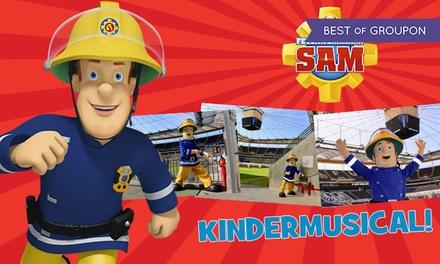 """Feuerwehrmann Sam LIVE – """"Pontypandy rockt!"""" am Samstag, 27.05. in der Commerzbank-Arena Frankfurt (bis zu 34% sparen)"""