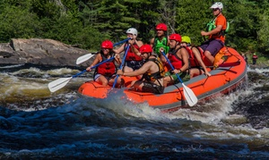 Club Raft: 2.5-Hour Rafting Excursion with Snack for One, Two or Eight with Club Raft (Up to 52% Off)