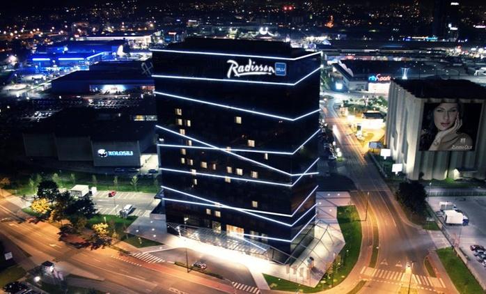 Lubiana: Radisson Blu Plaza Hotel 4*, 1 notte con colazione o mezza pensione e parco acquatico per 2 persone