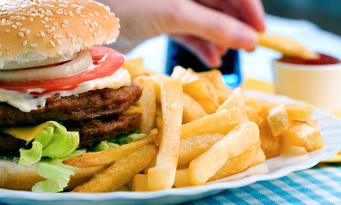 Boudreux Burger Barn - London: $15 for Three Groupons, Each Good for $10 Worth of Burgers at Boudreux Burger Barn (Up to $30 Value)