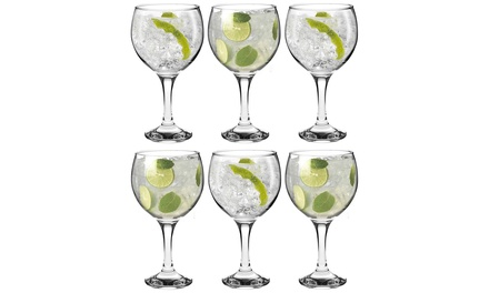 Set of 6, 12, 18 or 24 Gin Balloon Cocktail Glasses