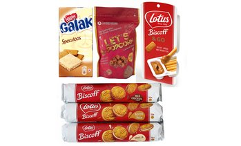 4 Pieces Lotus Biscoff Sweet Bundle