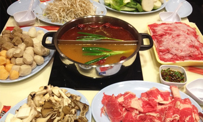 Hot Spot - Fairfax: $15 for $30 Worth of Asian-Fusion Hot Pots, Valid Monday Through Thursday at Hot Spot